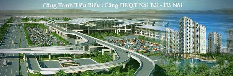 dự án cấp thoát nước cảng hàng không Quốc tế Nội Bài