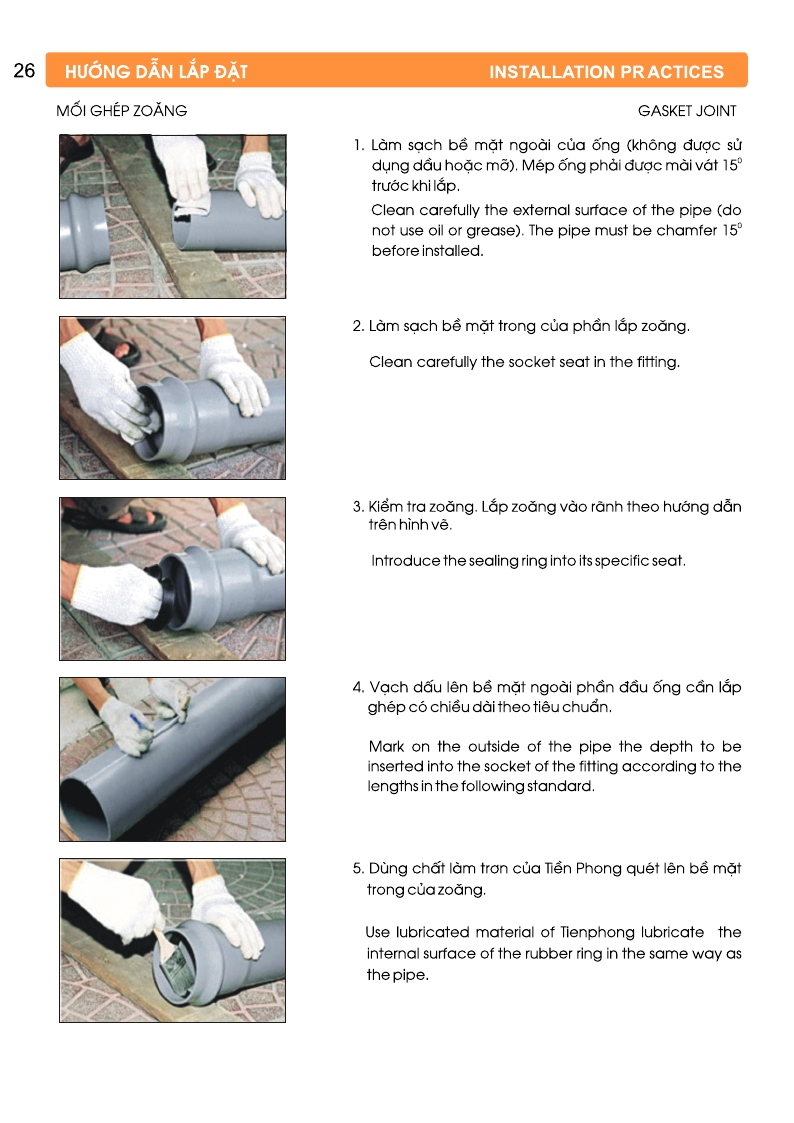 hướng dẫn lắp đặt hệ thống ống nước upvc